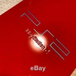 Ps2 Couleur Automobile Européenne Super Rouge Jeu Complet (japonais Ps2 Rare)