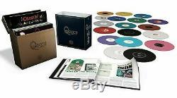 Queen The Studio Collection (180g Couleur 18 Lp Box Ensemble Complet) Hermétiquement Fermé! Coffret