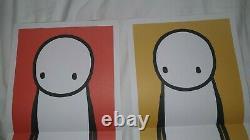 Rare Affiche Stik Imprime The Big Issue 2013 Complete Set Of All Four Colours Mint