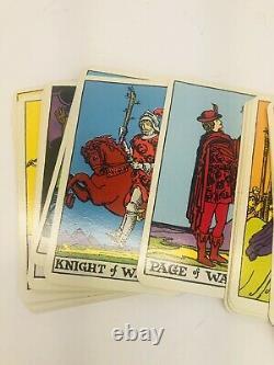 Rare Vintage 1968 Albano & Waite Nouveau Color Deluxe Edition 78 Card Set Complet