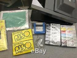 Riso Print Gocco Imprimante Multicolore Instantanée B5 Hi Set De Maille Complet Complet