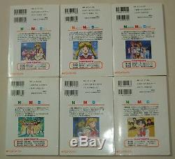 Sailor Moon Super S Livre Couleur D'animation 1-6 Complet Ensemble Complet Naoko Takeuchi