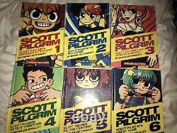 Scott Pilgrim Full Color Hardcovers Complete Set Volumes 1-6 Oni Press