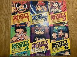 Scott Pilgrim Relié Color Edition Complete Set 1 2 3 4 5 6 O'malley Manga