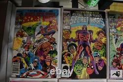 Secret Wars #1-12 Marvel Comics Ensemble Complet 1984 #8 1st Black Suit Spider-man
