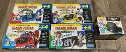 Sega Game Console De Vitesse Micro 4 Couleurs Ensemble Complet Withwindow 30e Anniversaire Gg