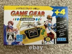 Sega Game Gear Micro 4 Color Complete Set + 16 Pins Collection Box Limitednew