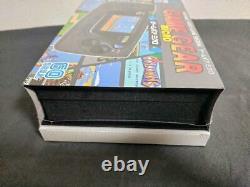 Sega Game Gear Micro 4 Color Complete Set + 16 Pins Collection Box Limitée Jp