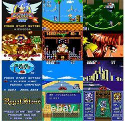Sega Game Gear Micro 4 Color Complete Set + 16 Pins Collection Limitedjapan Nouveau