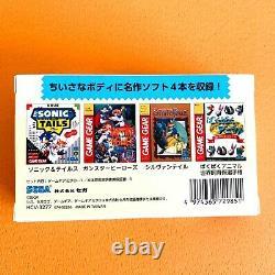 Sega Game Gear Micro 4 Color Complete Set + Big Window Micro Japan Limited Dhl