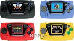 Sega Game Gear Micro 4 Couleurs Complete Set Boîte Collection Pins + Grande Fenêtre Micro