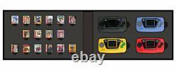 Sega Game Gear Micro 4 Couleurs Ensemble Complet + 16 Boîte Collection Pins Japon Limitée