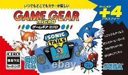 Sega Game Gear Micro Console 4 Couleur Ensemble Complet 30e Anniversaire Gg Withwindow