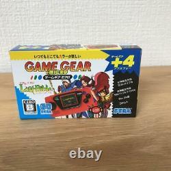 Sega Game Gear Micro Console 4 Couleurs Big Window Ensemble Complet 30ème Anniversaire