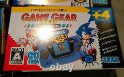 Sega Game Gear Micro Consoles Uk Stock Big Window 4 Couleurs Complete Set Rare