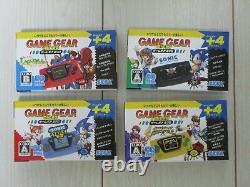 Sega Gear Gear Gear Micro 4 Color Console Ensemble Complet + Big Window Micro 30ème Japon