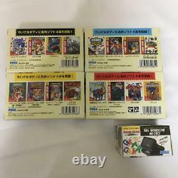 Sega Nouvelle Série Complète Game Gear Micro 4 Couleurs Avec Bonus De Grande Fenêtre Microf / S