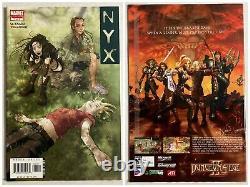 Série Complète Nyx 2003 Collection Unread Marvel Comics Volumes 1 2 3 4 5 6 7