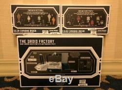 Star Wars Galaxy Edge Droid Factory Jeu De Droïdes À Changement De Couleur Ensemble Complet