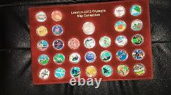 Superbe Decal Couleur Intégrale Original 2011 Olympic Games+ Completer Medal