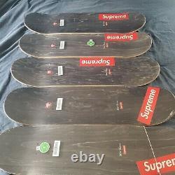 Superior Kaws Chalk Logo Skateboard Deck Ensemble Complet Tous Les Coleurs