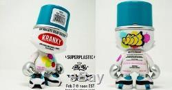 Superplastique Sket Un Ensemble Complet De 5 De Superkranky, Bnib, Toutes Les 5 Couleurs @ 150 $
