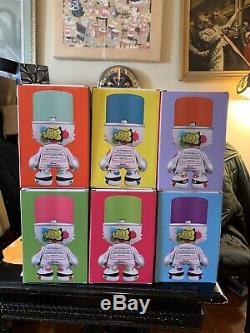 Superplastique Sket Un Ensemble Complet De 6 De Superkranky, Bnib, Toutes Les 6 Couleurs