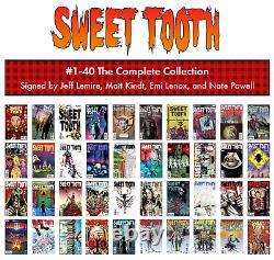 Sweet Dent #1-40 Collection Complète Ensemble Complet Tout Signé Par Jeff Lemire Nm