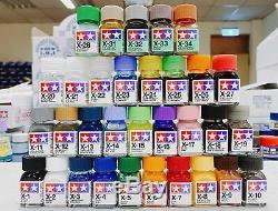 Tamiya Couleur 80001-80034 X-1 À X-34 Gloss Enamel Peinture 32 Complete Set Bouteilles