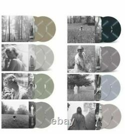 Taylor Swift Folklore Complete Colour Set Vinyl 8x Lp Limited Sealed Exclusive