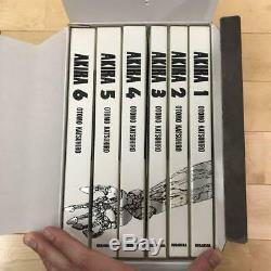 Technicolor Ensemble Complet Pour Les 6 Volumes Akira Full Color Ver Première Édition Otomo