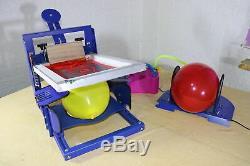 Techtongda One Color Set Complet De La Machine D'impression D'écran Pour Ballon