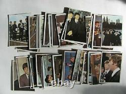 The Beatles Complete Nice Set Topps Color Card Set 1-64 1964
