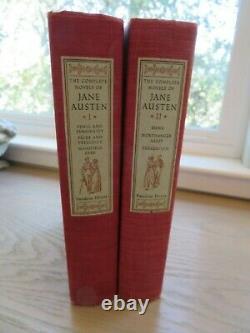 The Complete Novels Of Jane Austen-2 Vol Set With12 Color Plates 1950 Random Hse