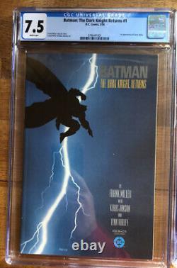 The Dark Knight Retourne #1-4 1ère Impression Série Complète Cgc Graded