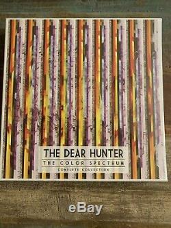 The Dear Hunter Le Spectre De Couleurs The Complete Collection Coffret Vinyle Nouveau