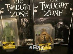 The Twilight Zone Sdcc 2014 Vague 1 Complete Set Color Ltd. 456 Bif Bang Pow
