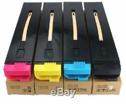 Toner Pour Xerox Color 550, 560, 570, C60, C70. Set Complet Cmyk