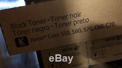 Toner Xerox Couleur 550, 560, 570, C60, C70. Jeu Complet Véritable Nouveau Cmyk