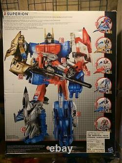 Tranformers Combiner Wars Cw Superion G2 Color Gift Set Complete In Box
