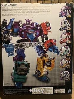 Transformateurs Combiner Wars 6 Figures Cw Menasor G2 Couleur Ensemble Complet De Cadeaux D'occasion