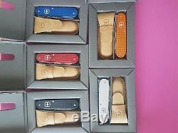 Unused Set Complet Victorinox 2012 Alox Cadet 5 Couleurs Série 84mm Rare