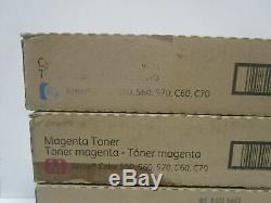 Véritable Xerox Toner Color 550 560 570 C60 C70 Ensemble Complet Cmyk Neuf Scellé