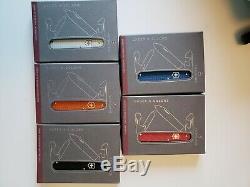 Victorinox Cadet Alox 5 Couleurs Complete Set 2012 Edition Limitée
