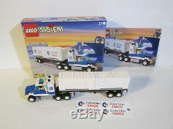 Ville Lego 2149 Color Line Container Poids Lourd 100% Complete 1997 Autocollants Non Utilisés