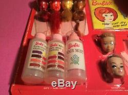 Vintage Barbies Couleur N Curl Complete Set 1964 Voir Photos Pour Les Agrandir