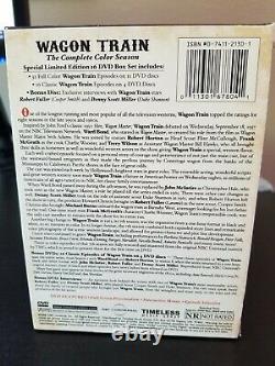 Wagon Train DVD Box Set 16 Disques 48 Épisodes La Saison Complète Des Couleurs