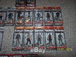 Walking Dead Mcfarlane Figures Ensemble Complet Série Lot 1-10 Tops Couleur Exclusive