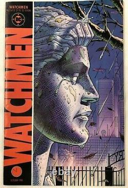 Watchmen Complet DC Comic Book Ensemble De 12 1er Tirages De 1986 (excellent)