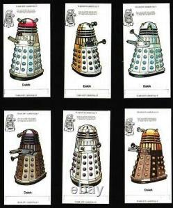 Weetabix'doctor Who (white Back)' Ensemble Complet